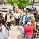 El intendente Mantegazza entregó mobiliario escolar a dos escuelas del distrito