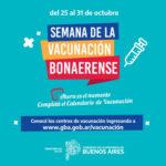 Provincia lanzó la Semana de la Vacunación