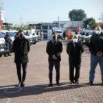 Kicillof y Mussi pusieron en funcionamiento 20 nuevos patrulleros