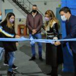 Chornobroff y Sierra inauguraron obras en clubes de barrio de Avellaneda