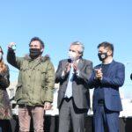 Merlo: Fernández entregó viviendas y se mostró con los candidatos del FDT
