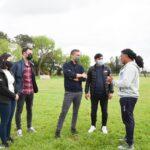 Mantegazza firmó un convenio con el gobierno provincial para la mejora de espacios deportivos