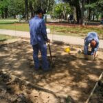 Inicio de trabajos de puesta en valor del Parque Urbano Viejo Casal